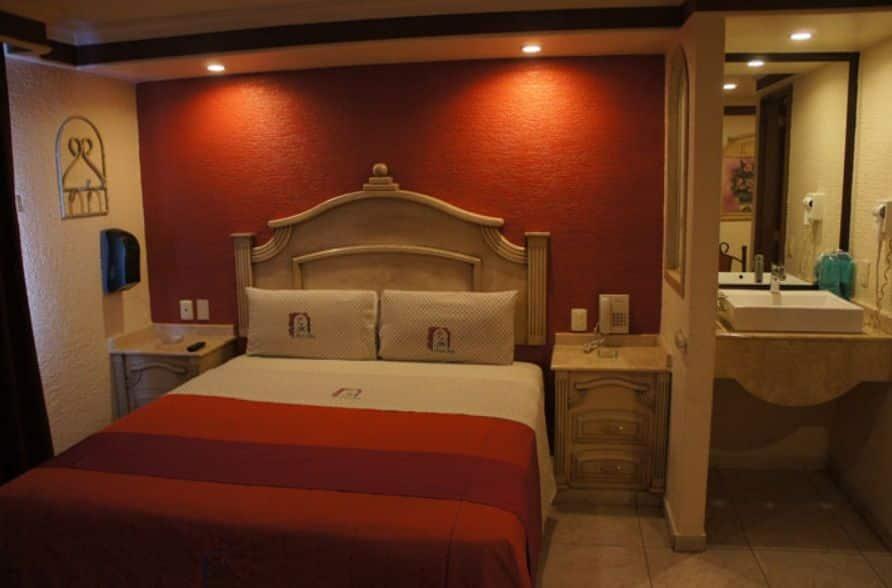 Motel Jardin Guadalajara habitación