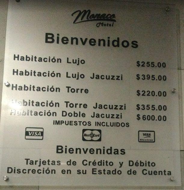 Motel Monaco Guadalajara Precios