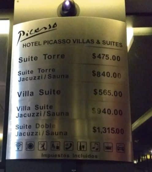 Motel Picasso Guadalajara precios