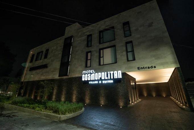 Motel Cosmopolitan guadalajara Entrada