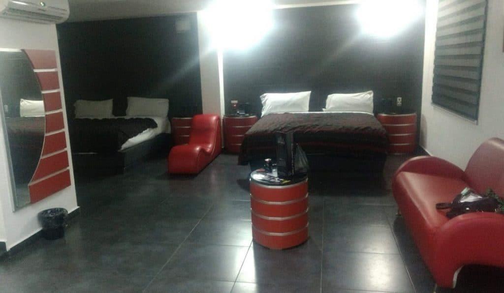 Motel the red palace Guadalajara Jalisco